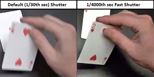 Tốc độ màn trập lá bài